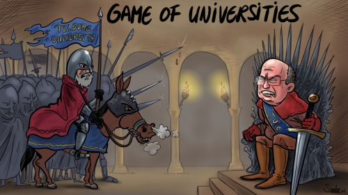TUeindhoven, TUe, cartoon, game of thrones, gameofthrones, iron throne, kingslanding, universiteit, Tilburg, Eindhoven